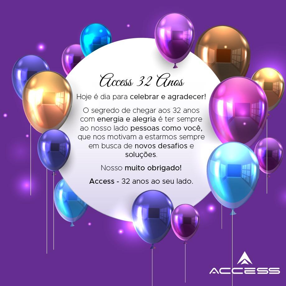 Aniversário Access!!!