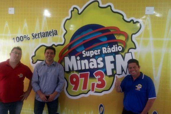 Flávio Oliviera, Fabio Barros e Dj Soll - Rádio Minas FM 97.3