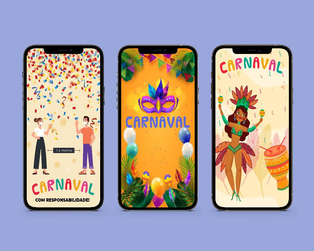Telas Splash: Carnaval