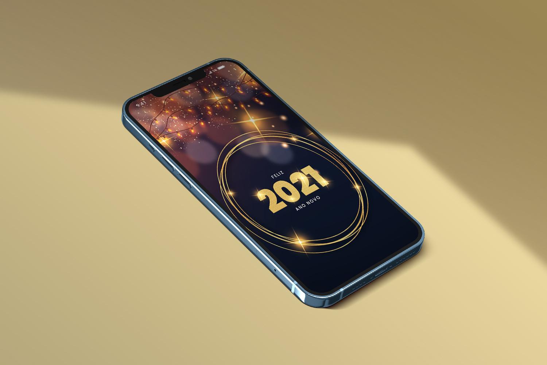 Telas Splash: Ano Novo