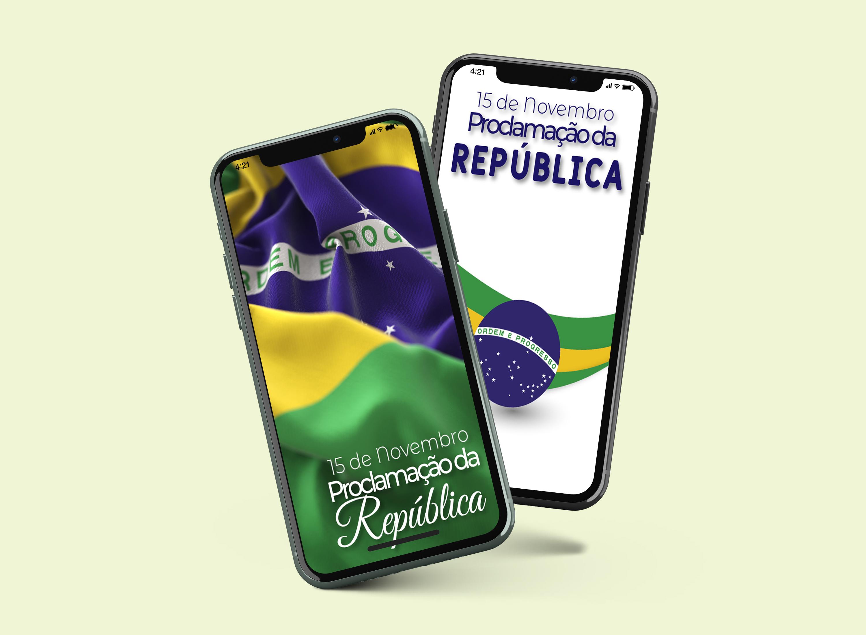 Telas Splash: Proclamação da República